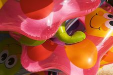 Free Colorful Float Toys Royalty Free Stock Image - 14208736