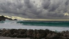 Free Stormy Wave Stock Images - 14209204