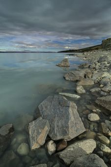 Free Lake Pukaki Shoreline Stock Photos - 14209483