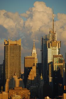 Free Chrysler Building Stock Images - 14209514