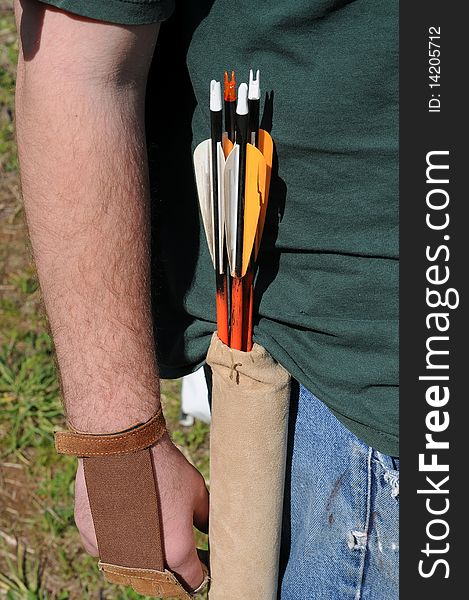 Arrows in Pouch