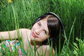 Free Girl In Summer Meadow Stock Photo - 14212620