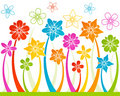 Free Floral Horizontal Seamless Background Stock Image - 14217871