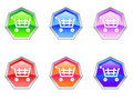 Free Shopping Trolley Cash Logo Design Icon Stock Image - 14218271