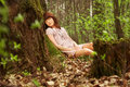 Free Young Girl In The Forest Stock Photo - 14219610