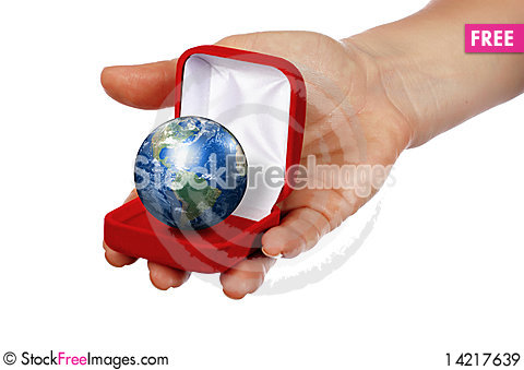 The whole world is a gift Stock Photo