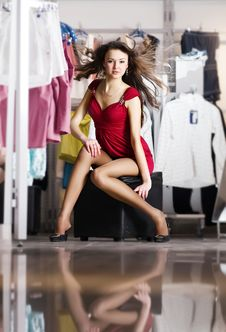 Free Pretty Women Shopping Stock Image - 14210111