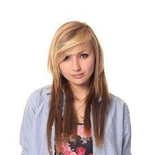 Free Attractive Young Teenage Girl Stock Photos - 14210493