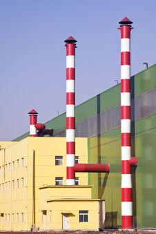 Free Chimneys & Industrial Building Stock Photo - 14210710