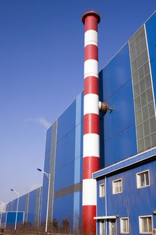 Free Chimneys & Industrial Building Royalty Free Stock Photo - 14211235