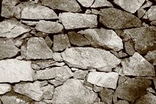 Free Stone Wall Stock Photo - 14211480
