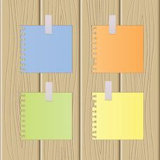 Free The Multi-coloured Sheets Of Paper Royalty Free Stock Photos - 14212208