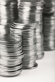 Free Stacks Of Coins Stock Images - 14212304