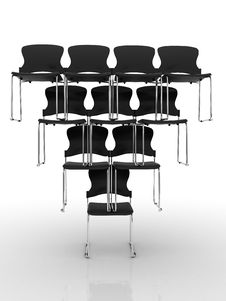 Free Chairs In Equilibrium Stock Image - 14212491