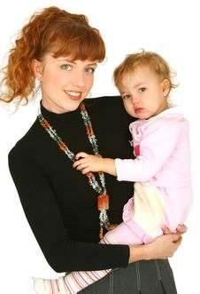 Free Mother With Baby Girl Stock Images - 14212614