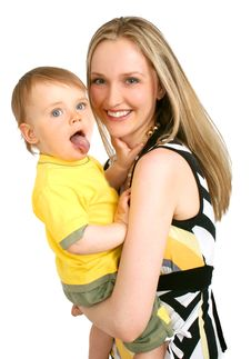 Free Mother With Baby Boy Stock Photo - 14212700