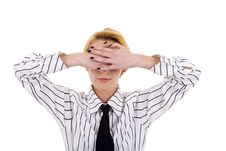 Free See No Evil Royalty Free Stock Photos - 14213048