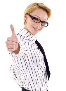 Free Thumbs Up! Royalty Free Stock Photography - 14213057
