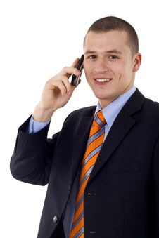 Free Talking On The Phone Royalty Free Stock Image - 14213156