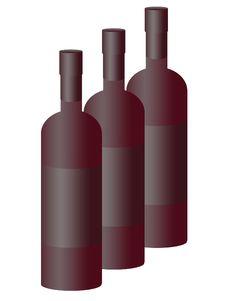 Free Bottles Of Wine Stock Photos - 14213733