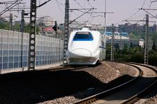 Free High-Speed Train Royalty Free Stock Photo - 14213855
