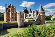 Free Castle, France Royalty Free Stock Images - 14214079