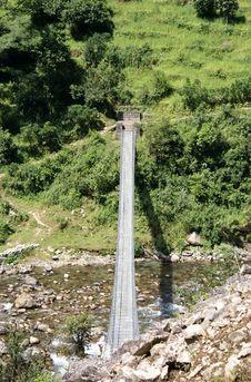 Annapurna Trekking Stock Photography