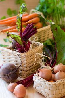 Free Fresh Vegetables Royalty Free Stock Photo - 14214885