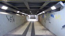 Tunnel Walkway Stock Photos