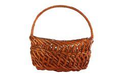 Free Brown Basket Royalty Free Stock Photo - 14215325