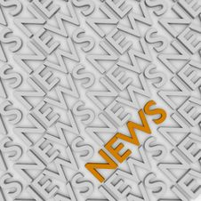 News Conception Stock Photography