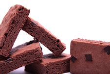 Free Chocolate Brownies. Royalty Free Stock Photography - 14216647