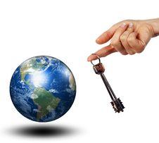 Free Keys To The Whole World Stock Photo - 14217520