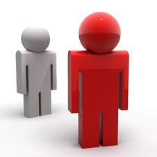 Free Coloured Guys Stock Photos - 14218033