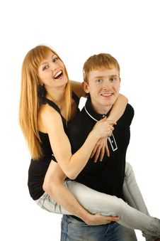 Free Smiling Couple Stock Images - 14218144