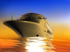 The Yacht Stock Photos