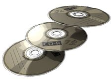 CD - DVD Stock Images