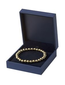 Free Gift Box With Gold  Bracelet, Isolated Royalty Free Stock Photo - 14219065