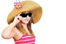 Free Summet Teen Girl Stock Photography - 14219622