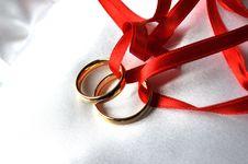 Free Wedding Rings Royalty Free Stock Photos - 14219818