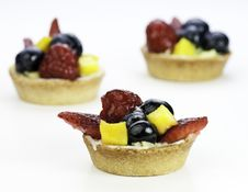 Free Fruit Tarts Stock Images - 14219834