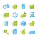Free Computer, Mobile Phone And Internet Icons Stock Photography - 14220572
