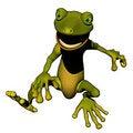 Free Jump Gecko Stock Photography - 14221792
