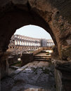 Free Ancient Roman Arena In Pula Stock Photography - 14221852