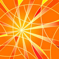 Free Abstract Orange Mosaic Background Stock Photography - 14223302