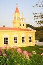 Free A Yellow Church. Stock Photos - 14225723