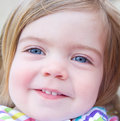 Free Portrait Of A Smiling Baby Girl. Royalty Free Stock Photos - 14229478