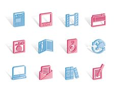 Free Media And Information Icons Stock Images - 14220514