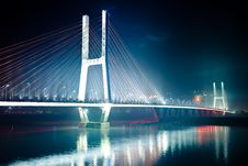 Free Bridge Night Royalty Free Stock Photos - 14220728