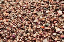 Free Circle Shaped Little Rocks And Sand Royalty Free Stock Photography - 14221017